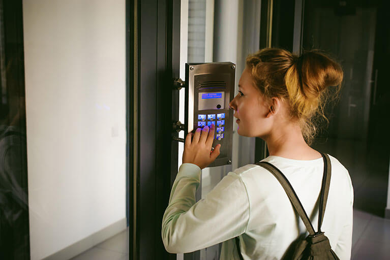 Image result for The significant purpose and advantages of installing an efficient Door Intercom system