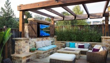 "Experience Outdoor Living In A Backyard ""Living Room"""